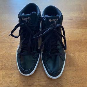 Girls Reebok Black High Top Sneakers 4